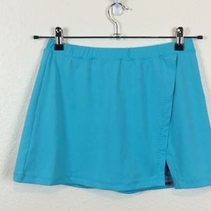 Tail Tennis Skirt Size Small Turquoise & Abstract